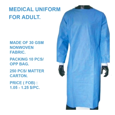 Medical Uniform Hoang Ha