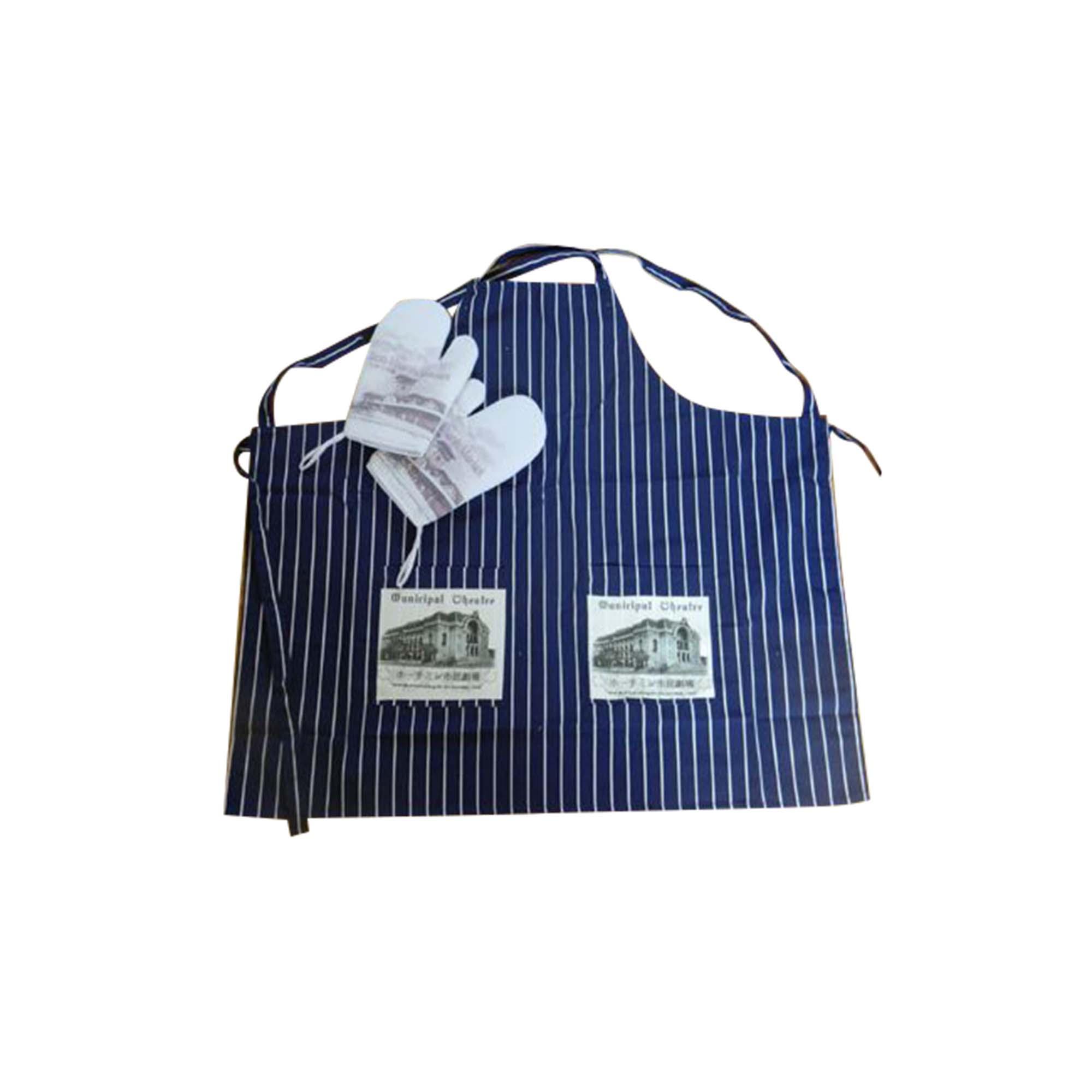 stripe Apron - Mitten - Glove