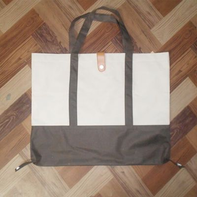 ASOS Scallop Shopper Bag With Removable Clutch